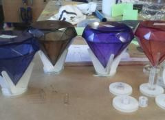 Gems for maze game, Gameshow, Fabrication, SFX, Cape Town