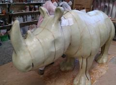 Rhino WIP, Rhino project, Fabrication Cape Town