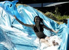 Giant water slide, Special Effects Water Cape Town
