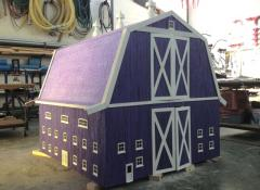 Model barn for Caburies commercial, Model making Cape Town