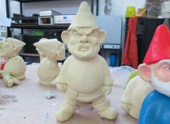 Plastic casts of IKEA gnomes. Fabrication Cape Town
