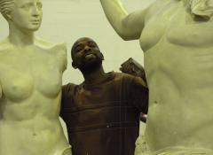 Venis Di Milo and Poseidon, life size replicas. Sculpture and Fabrication, Cape Town