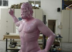 The making of Venis Di Milo and Poseidon, life size replicas. Sculpture and Fabrication, Cape Town
