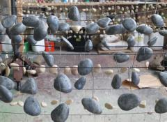 Custom made pebbles. SFX Fabrication and Effects, Cape Town