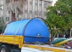 Water bowser, SFX water equipment