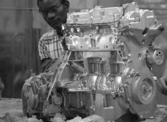 Light weight engine and car parts for Nissan Juke commercial. SFX Fabrication South Africa
